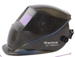 Tanox Auto Darkening Solar Powered Welding Helmet ADF-206S